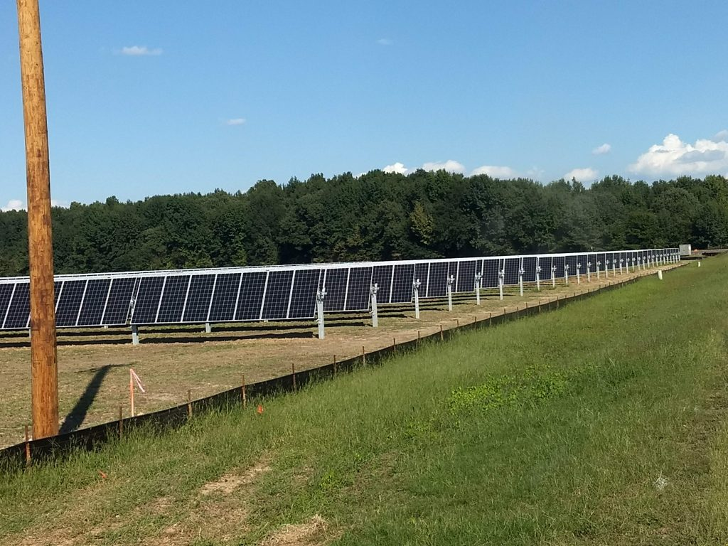 All panels installed 9-17-18