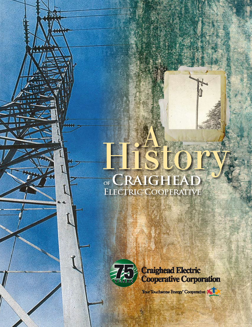 Front Cover of CECC History Book