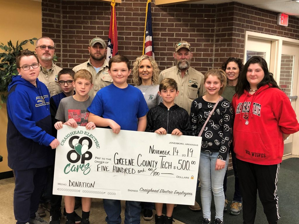 Greene County Tech Donation