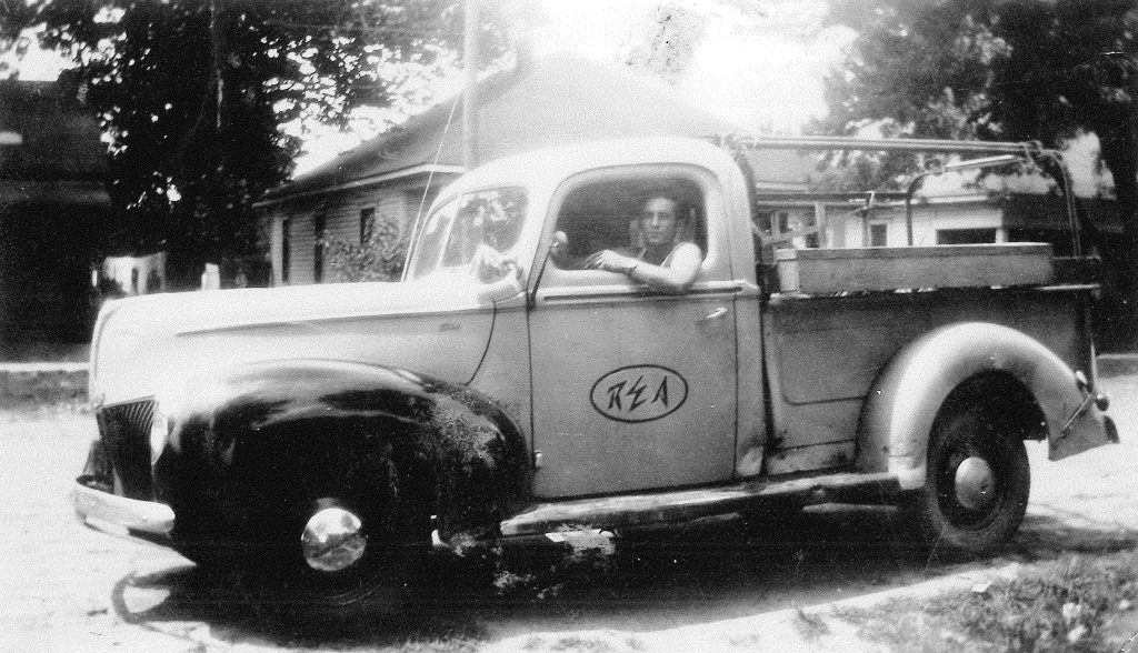 Old REA Truck Photo