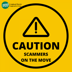 Scammers on the move - Caution