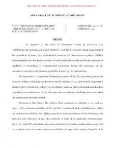APSC Covid-19 State of Emergency Disconnect Moratorium